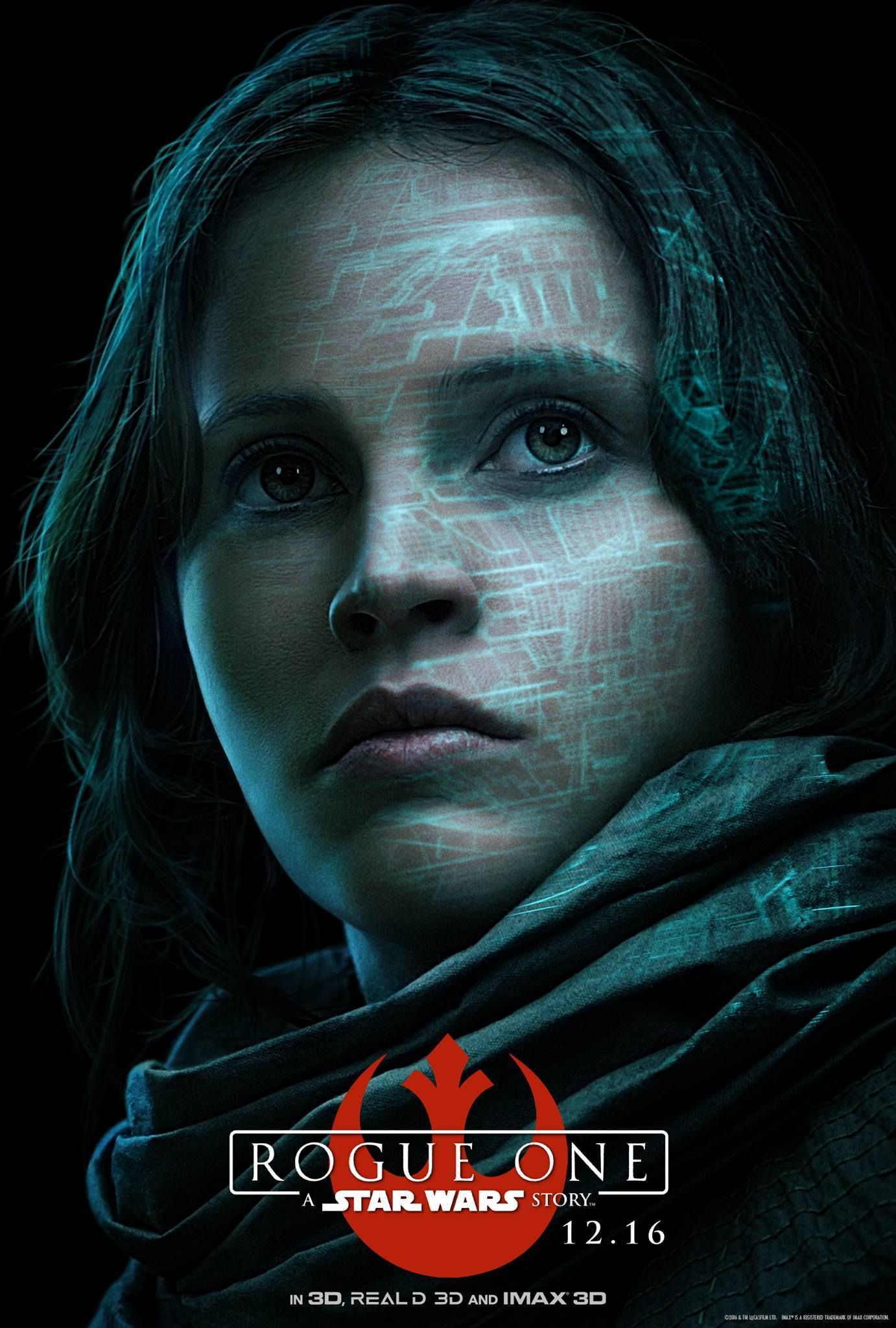 Rogue One Character Posters Here To Steal Your Heart Rogue One Star Wars Star Wars Movie Rogue One Poster