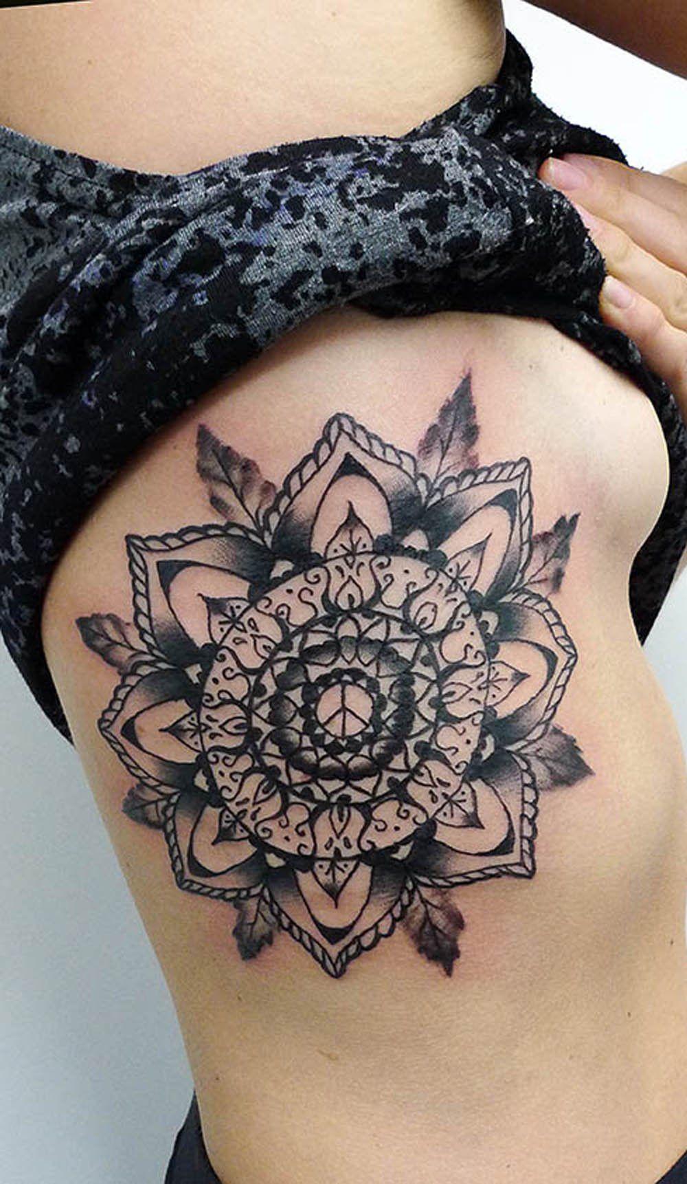 Bohemian Mandala Tattoo Ideas For Women