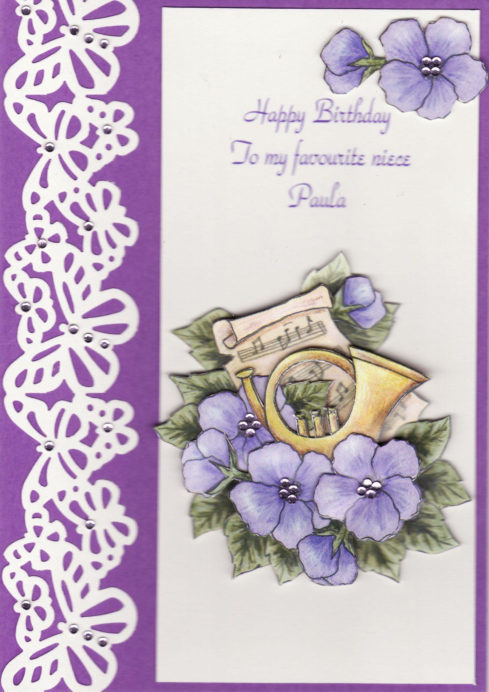 3d Happy Birthday To My Favourite Niece Paula By Tassie