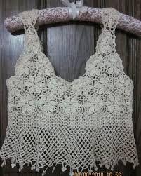 Resultado de imagem para receitas de blusinhas de alça de croche