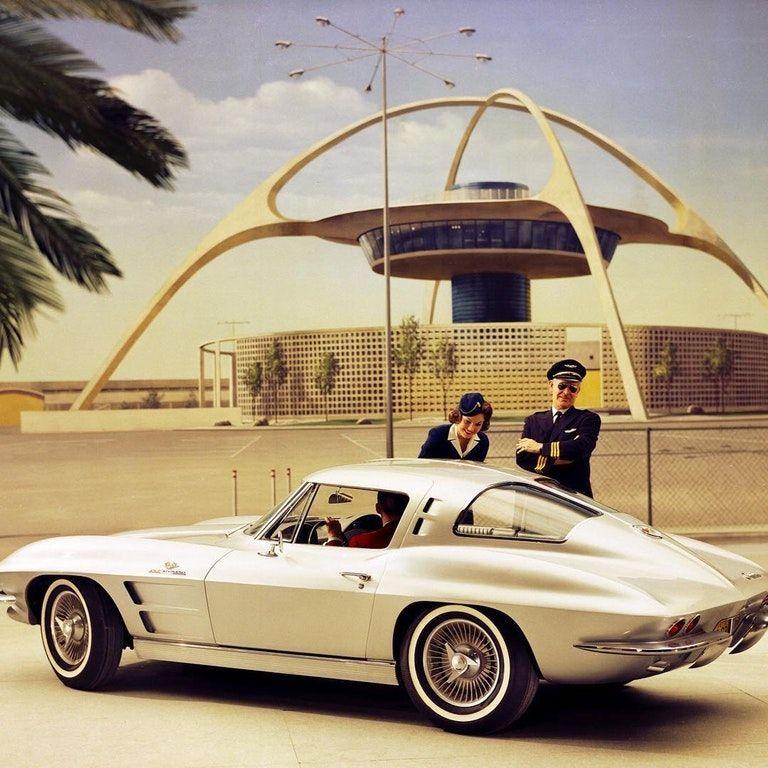 1963 chevrolet corvette split window oldschoolcool