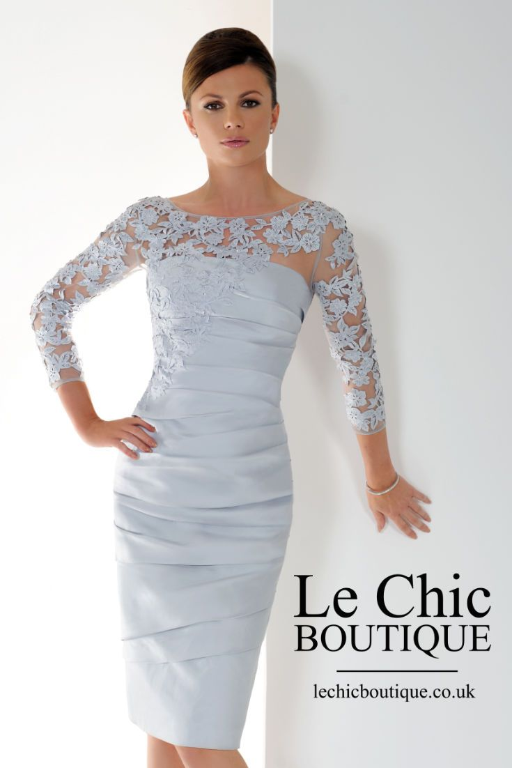 Active New Arrival Lace Knee-length Mother Of The Bride Dresses With Jacket 2015 Short Party Gown Taffeta Vestido De Madrinha Goods Of Every Description Are Available Weddings & Events
