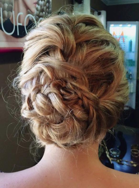 A soft braided look!