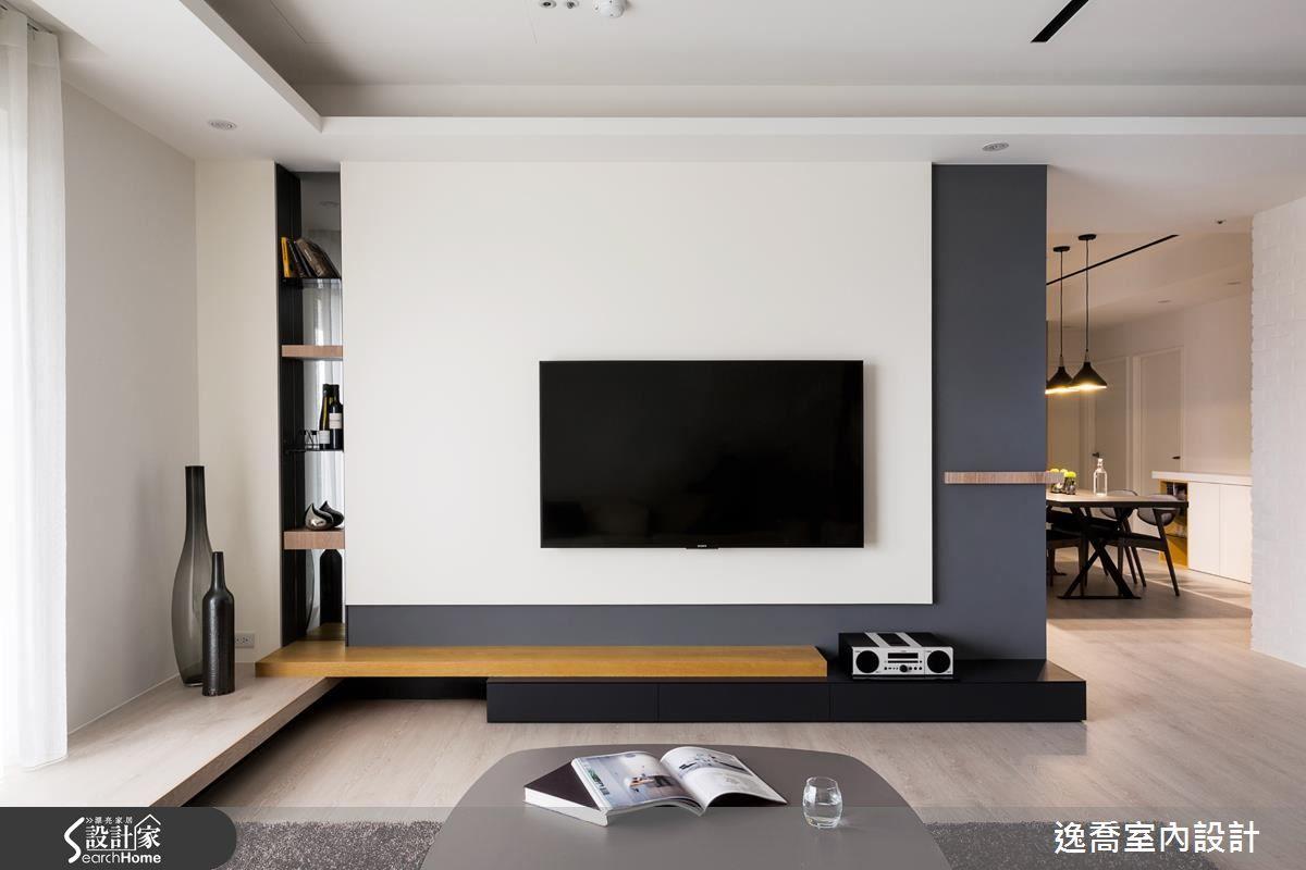 Elegant, Contemporary, and Creative TV Wall Design Ideas   Tv wall ...