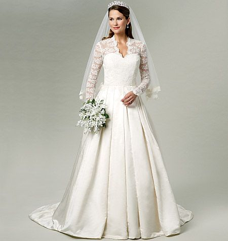 Butterick pattern B5731 | Wedding Dresses | Pinterest