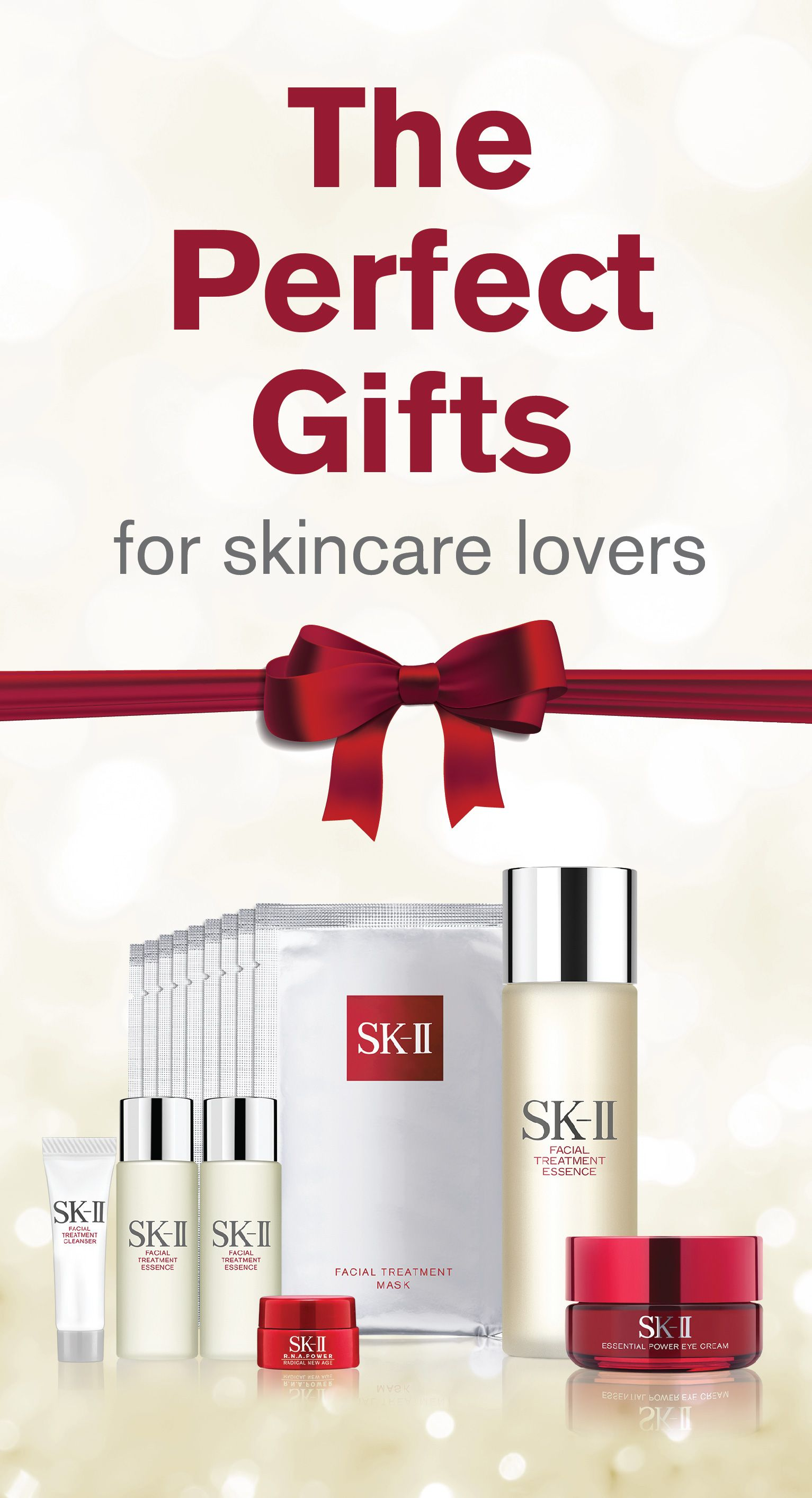 The perfect gift is just a click away! Share the gift of Pitera™ this holiday and get the best value on SK-II gift sets.