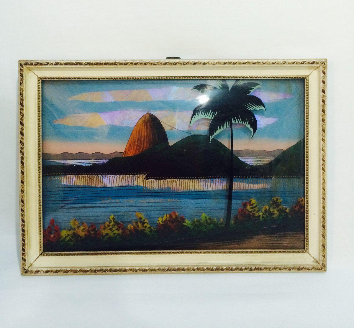 Quadro Vintage- Rio De Janeiro -anos 50 - R$ 218,00 no MercadoLivre