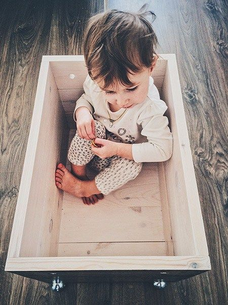 box for toys, and not only