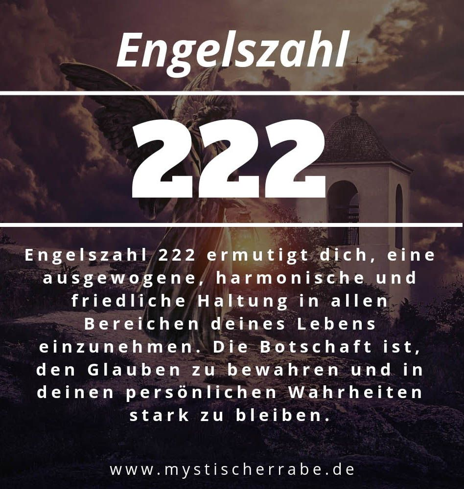Numerologie 222