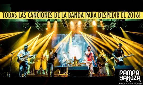 Pampa Yakuza: 2 shows 5 discos, todas las canciones de la banda para despedir el 2016