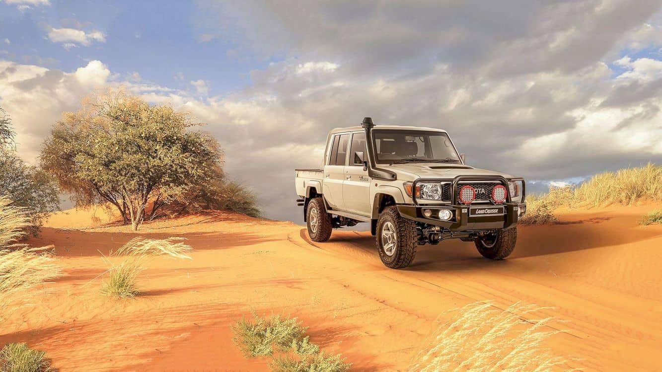 Toyota Land Cruiser 70 Series Namib: Master of Africa