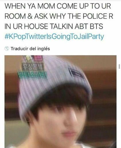 Kpoptwitterisgoingtojailparty Bts Memes Kpop Funny Kpop Memes