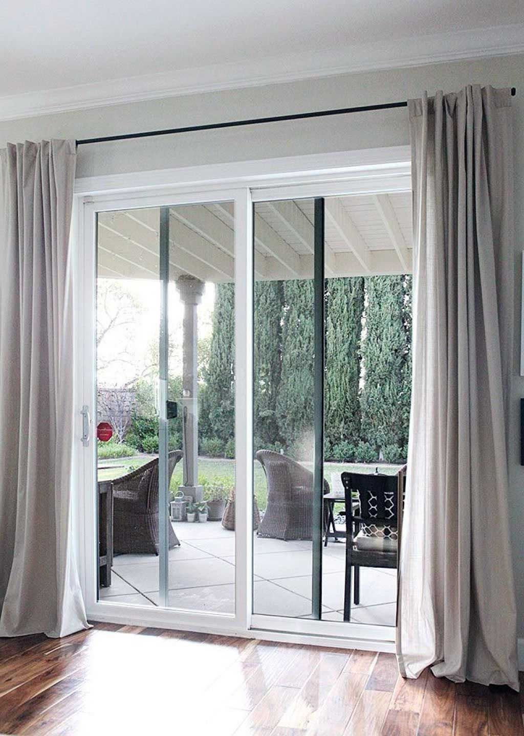 Beautiful Garden Door Curtains Inspirations In 2020 Glass Door Sliding Glass Door Window Sliding Glass Door