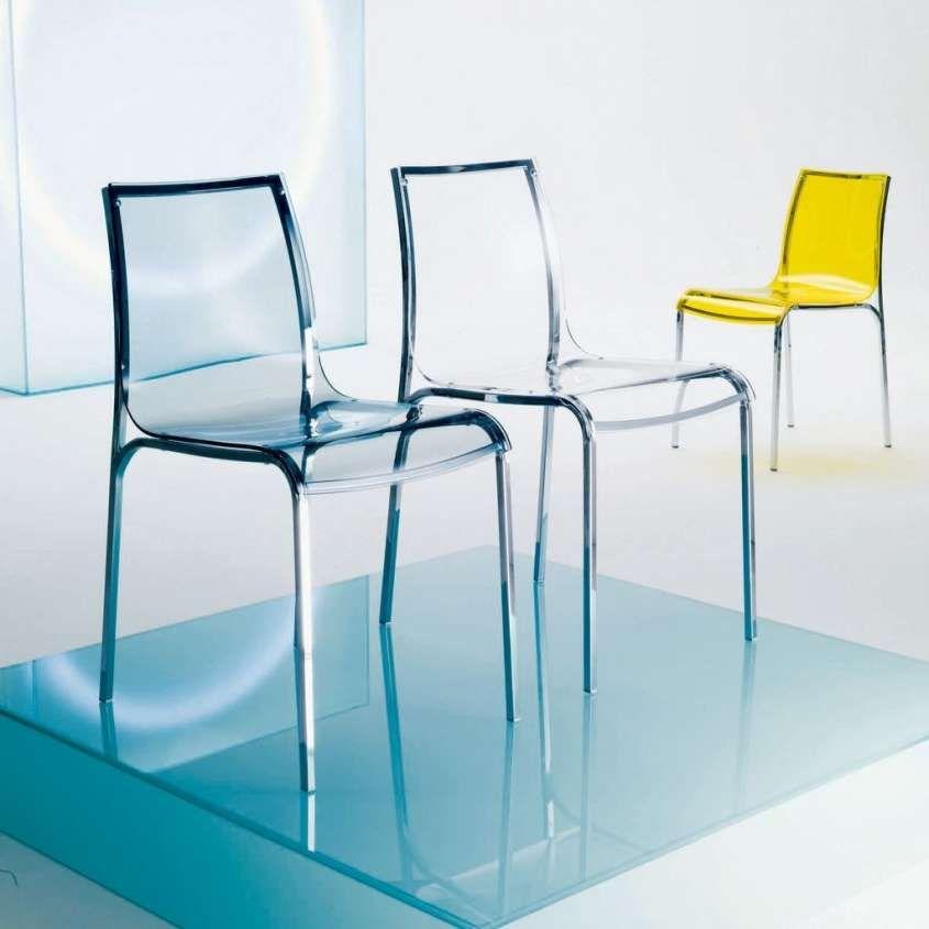 Sedie trasparenti di design - Sedie di design con il metallo | Sedie ...