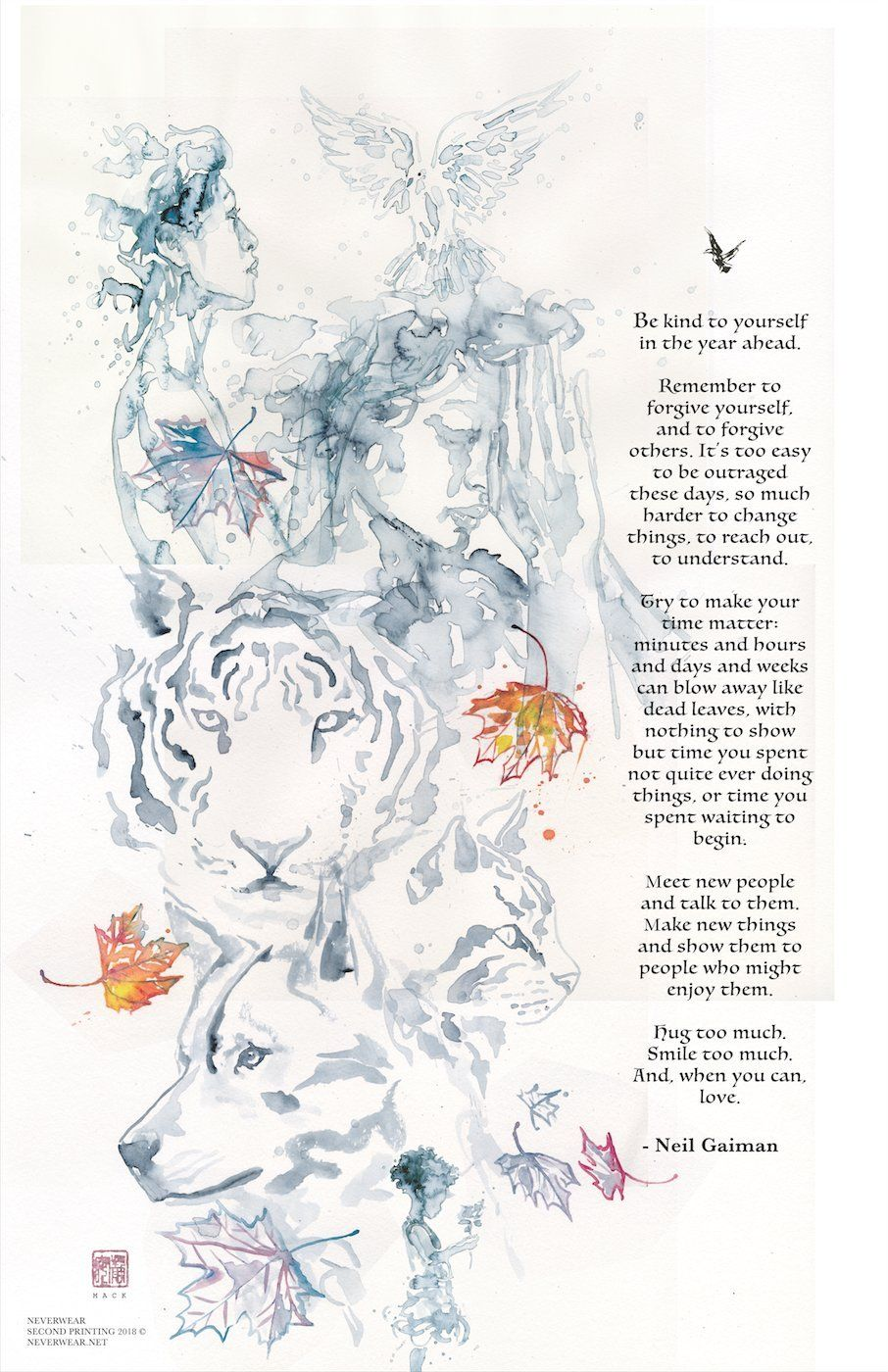 Neil's New Year Tiger Wish illustrated by David Mack