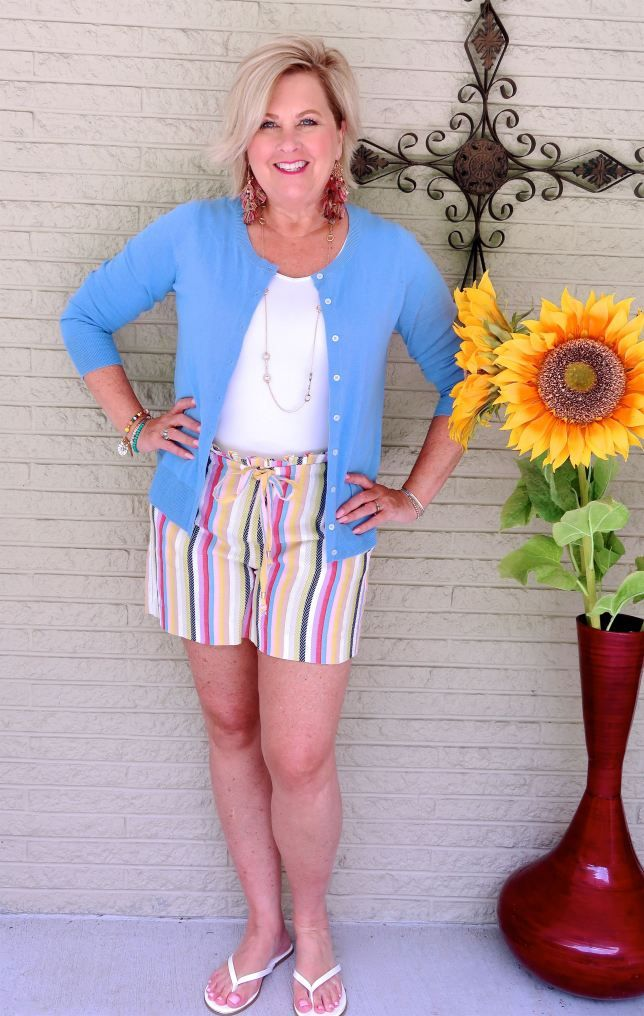 ARE PAPER BAG WAIST SHORTS FOR YOU – 50 IS NOT OLD