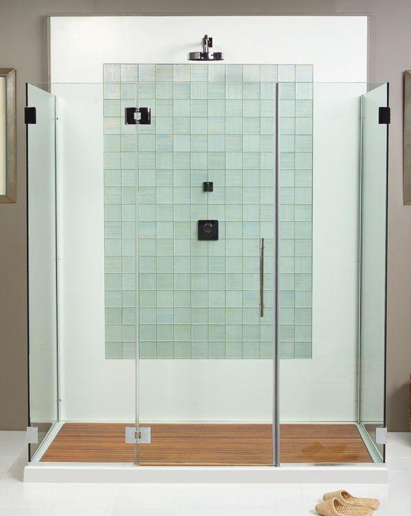 Duschkabine Durch Einen Schonen Bodenbelag Aufpeppen Duschkabine