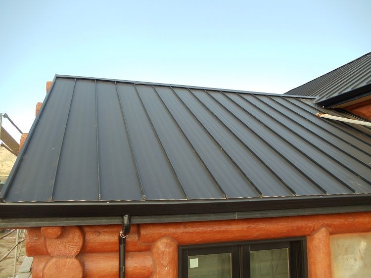 log cabin wedding ideas Standing seam metal roof, Metal
