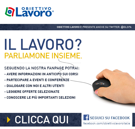 Campagna Facebook Segui La Nostra Fanpage