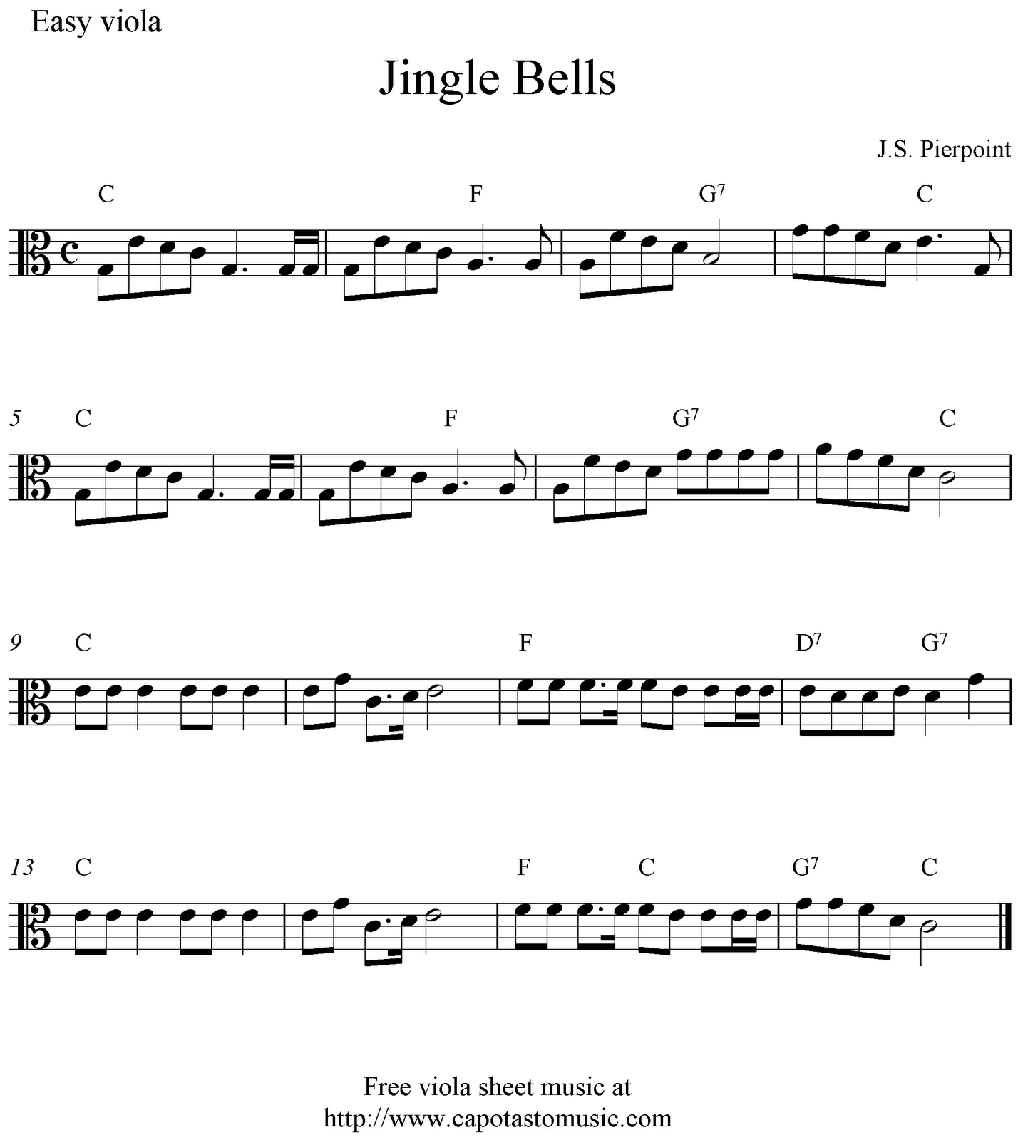 christmas viola sheet music - Szukaj w Google | viola ...