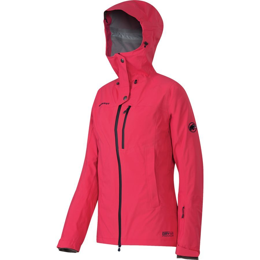 Mammut - Niva 3L Jacket - Women s - Light Carmine  73d5f8a92