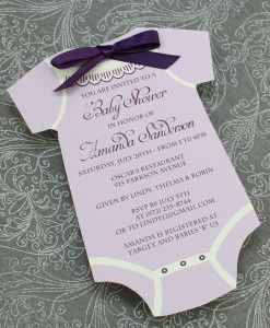 Baby Shower Program Template Baby Shower Invitation Template Girls Onsie  And Tons Of Other .