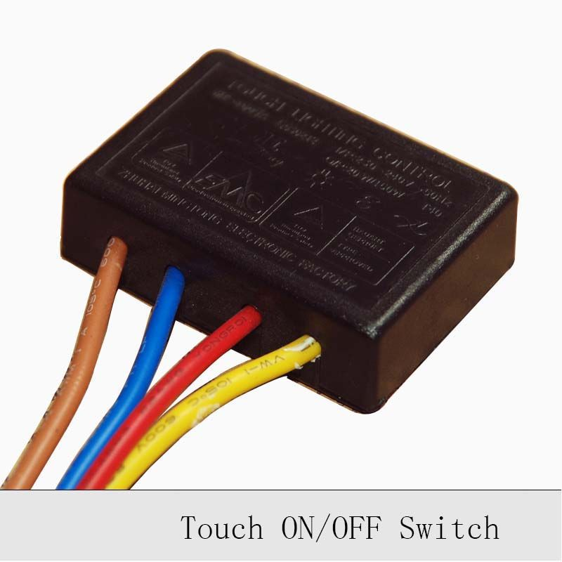 1pc 220v 150w Lamp Touch Switch Touch On Off Sensor Switch Table