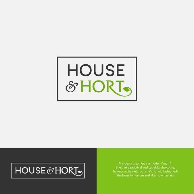 Create A Fresh Logo For A New Home And Garden Accessories Brand Aimed At Practical Feminine Women By Flynn Word Mark Logo Fresh Logo Geometric Logo Design