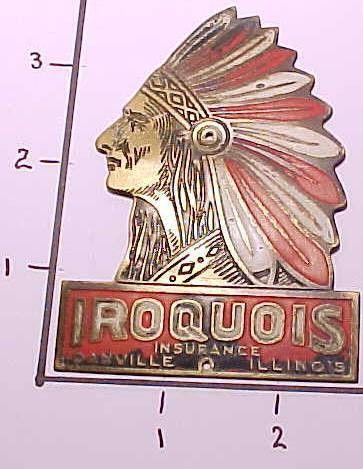Danville Il Iroquois Insurance Company Auto Insurance Tag For