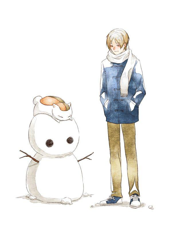 Natsume Nyanko Sensei Madara Natsume Yuujinchou Anime Natsume Takashi Manga Anime