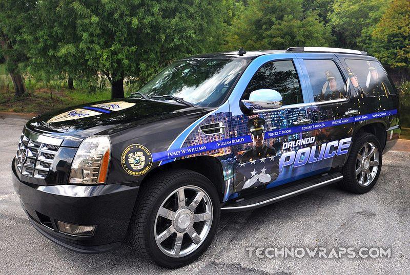Orlando Police Car Wrap Police Cars Car Wrap Police