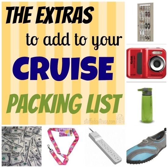 The Extras to Add to your Family Cruise Packing List | Water shoes ...