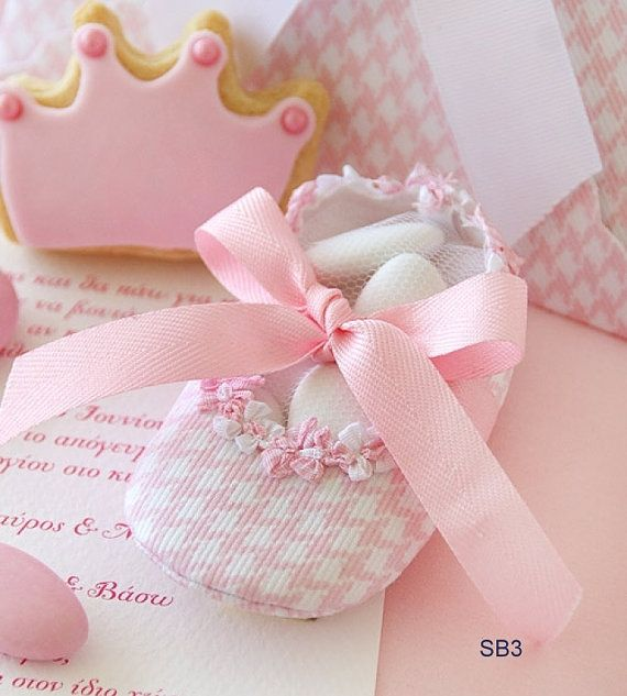 Pink little shoe Baptism favors-20pcs Pink Modern bombonieres-baby girl shower-baby shower gift-christening favors-Orthodox Greek Baptism-