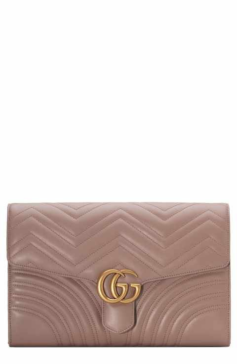 baa5f7afe760 Gucci GG Marmont 2.0 Matelassé Leather Clutch