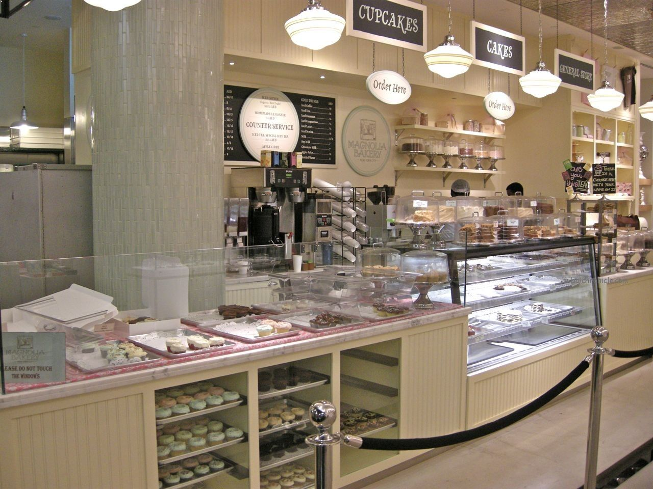 Magnolia Bakery Dubai opened last year in the upscale Dubai Mall