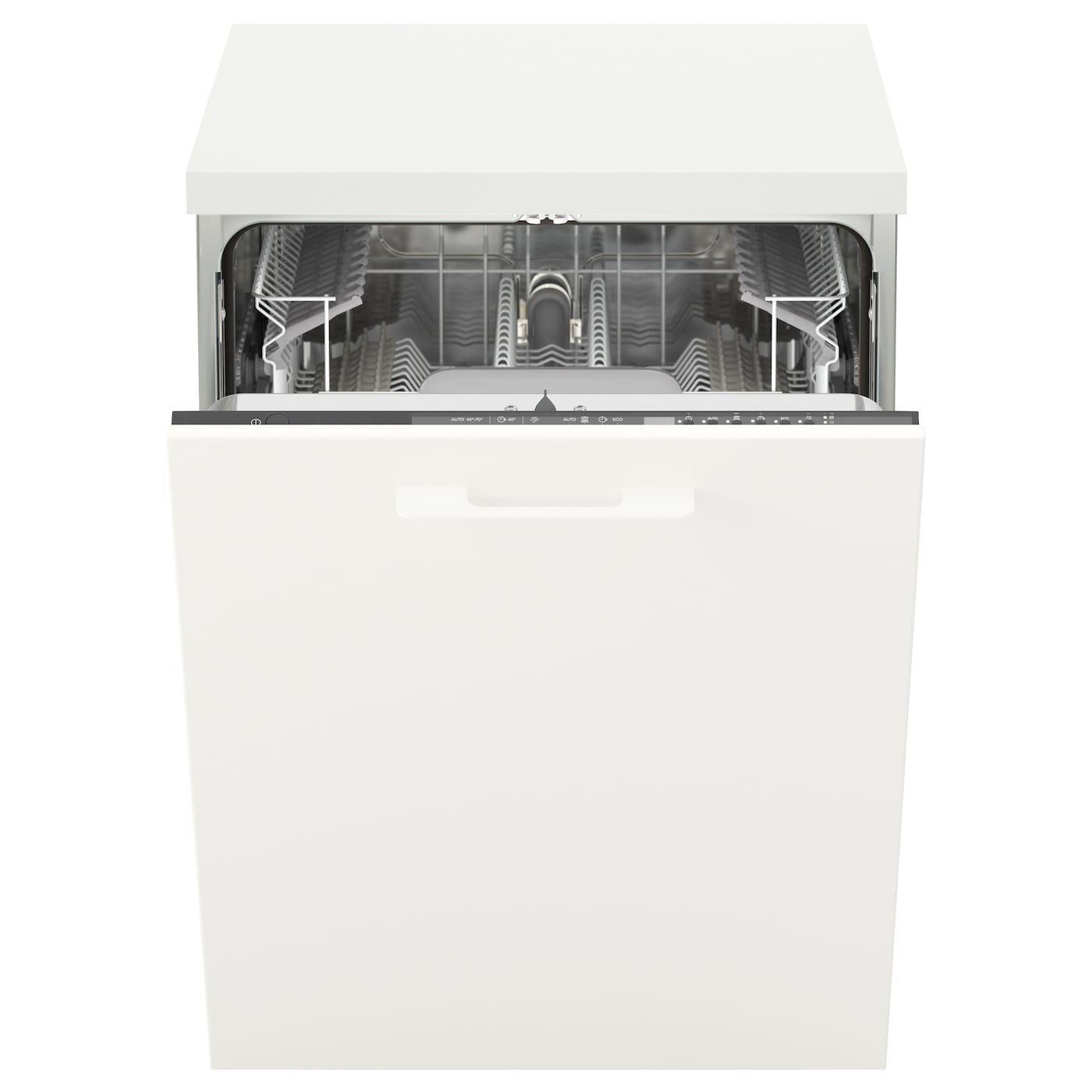 Skinande Integreret Opvaskemaskine Gra Ikea In 2020 Ikea Arbeitsplatte Geschirrspuler