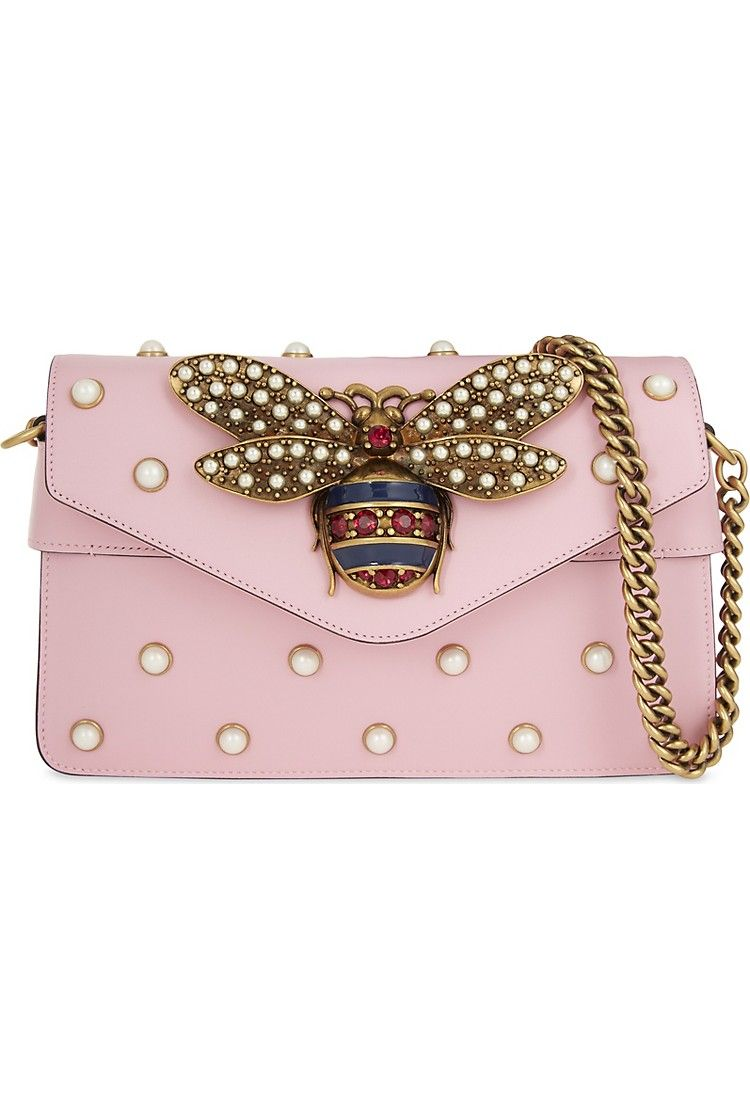GUCCI - Broadway Bee shoulder bag  fa7488ea7460