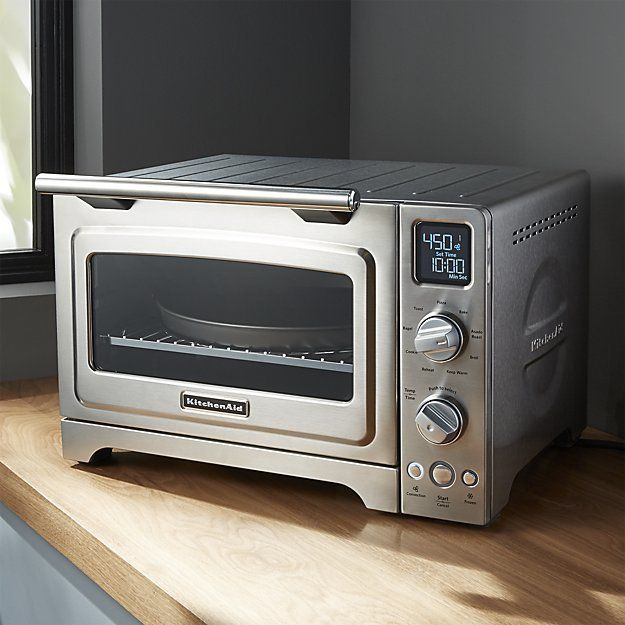 Kitchenaid Stainless Steel Digital Convection Oven Convection Oven Kitchen Aid Countertop Oven