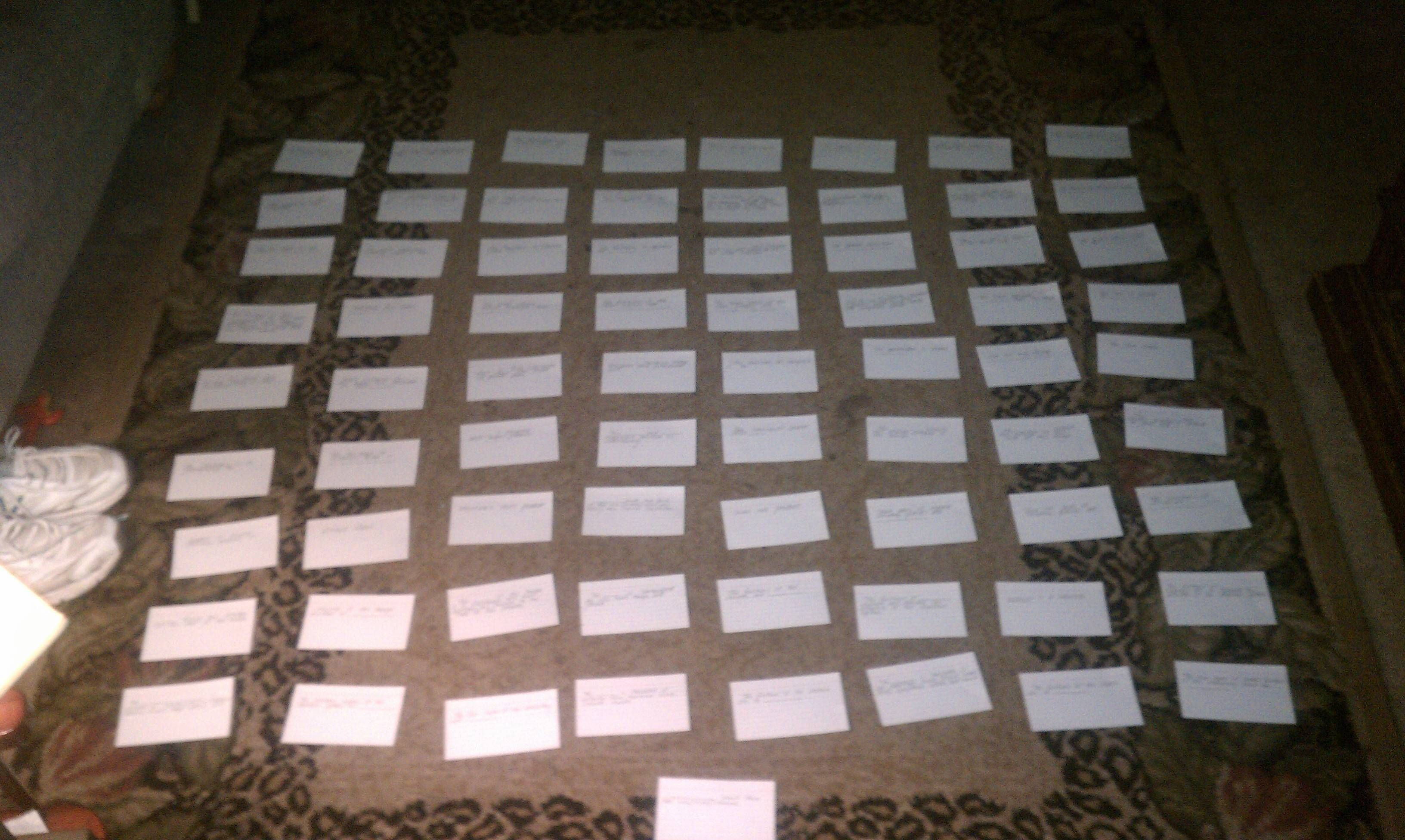 This is how I have to study for my anatomy test...   Graceville High ...