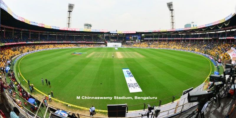 M Chinnaswamy Bengaluru India In 2020 Stadium Cricket In India Royal Challengers Bangalore
