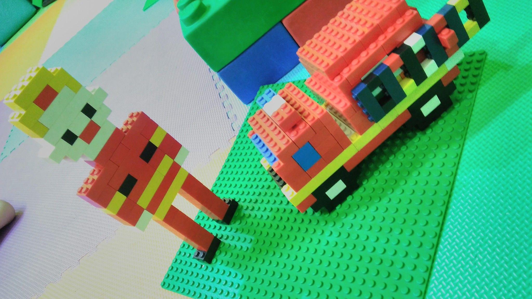 Fireman From Lego Bricks Melatih