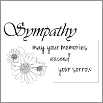picture regarding Free Printable Sympathy Cards to Color called Absolutely free Printable Sympathy Playing cards Black And White