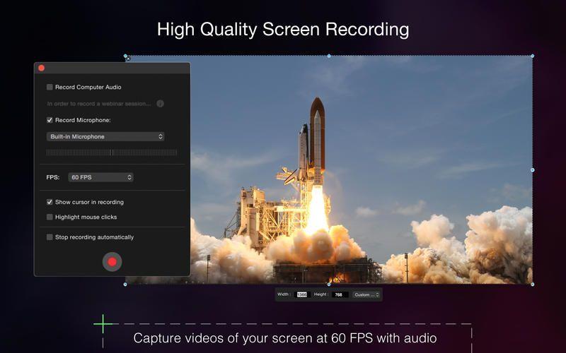 Capto Screen Recording, Screen Captures and Editing en