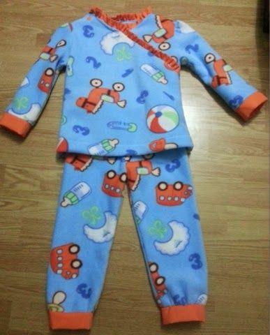 6c7ff6fbcb Cómo hacer pijama para niño paso a paso