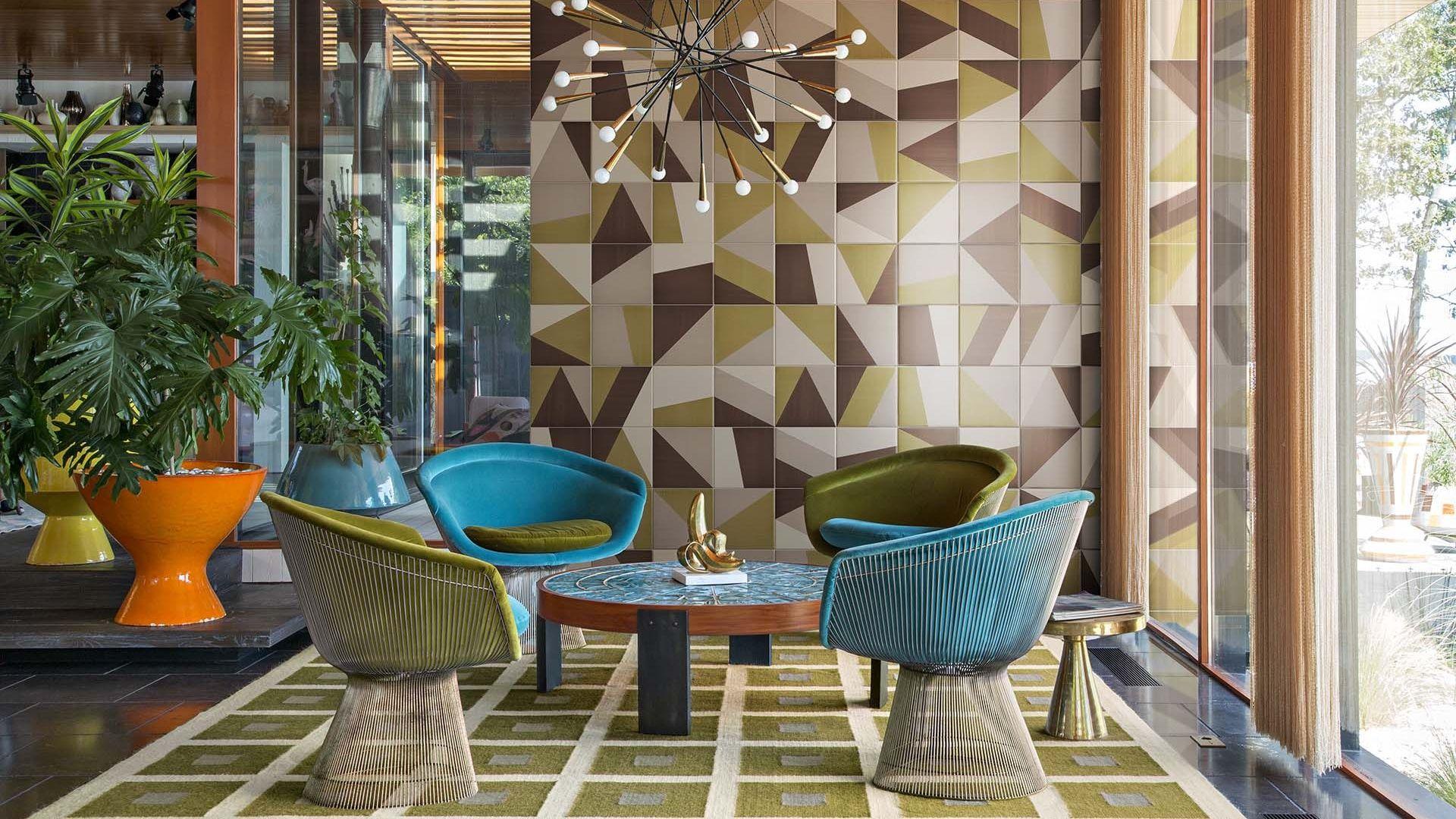 Tangram: collezione di piastrelle da pavimento e rivestimento d