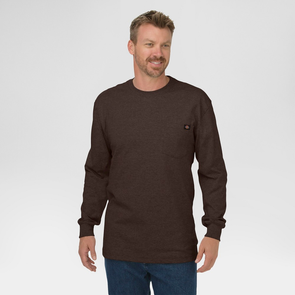 ac47a3ef A literal style staple for every man's wardrobe this Dickies - Men's Big  and Tall Cotton Heavyweight Long Sleeve Pocket T-Shirt will more than fit  the ...