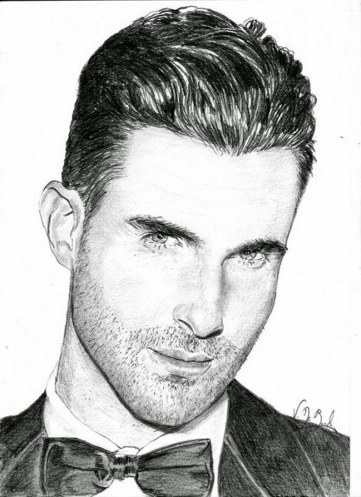 Adam Levine By Leelee