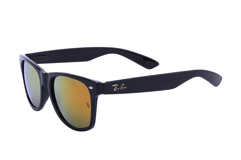 ray ban wayfarer original black  Ray Ban Wayfarer Classic RB2140 Yellow Black Sunglasses