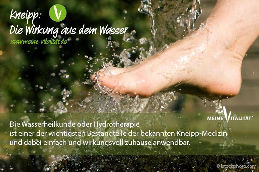 Kneipp: Die Wirkung aus dem Wasser - Mehr lesen bei Meine Vitalität.