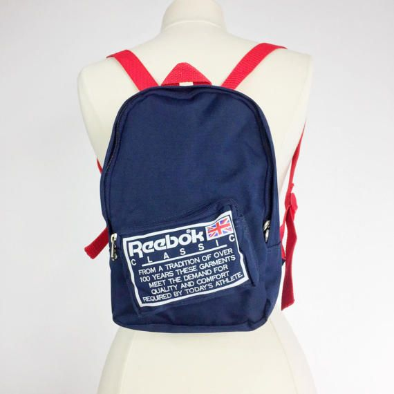 Excellent vintage condition. Shows the most minimal wear. Reebok Classic  Backpack ...